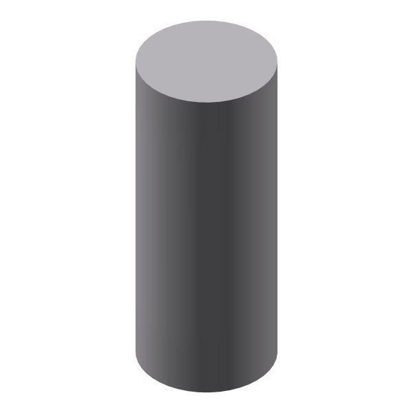 Rundstab Aluminium Ø 8 mm 1 Meter