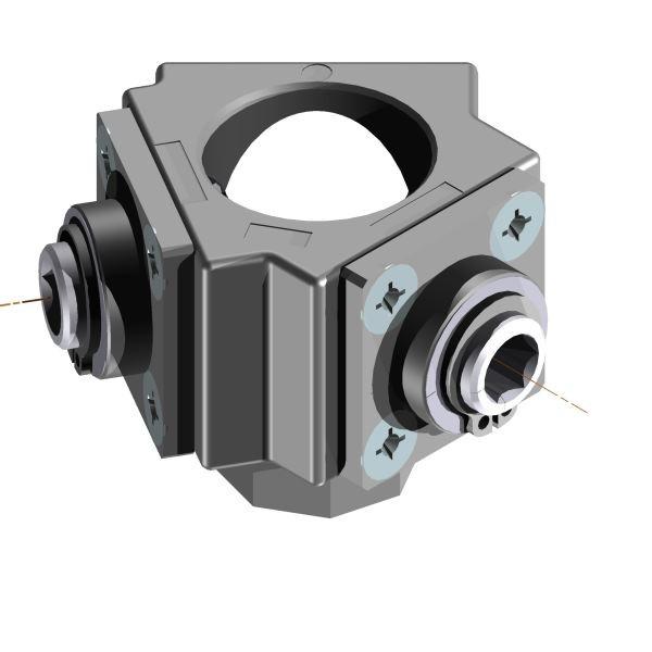 Winkelgetriebe 1,33:1 120° / 240° / 2 Nm / glasfaserverstärkter Kunststoff / nein
