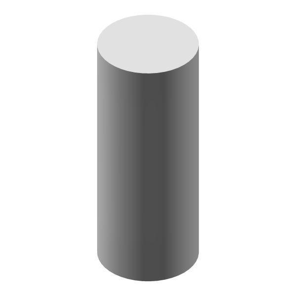 Profilstab rund Ø 8 mm / 1000 mm