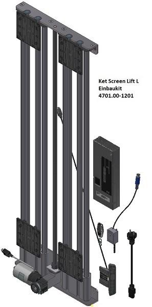 Ket-Screen TV-Lift bis 70kg