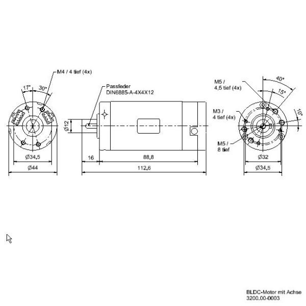 BLDC Motor 24V analog