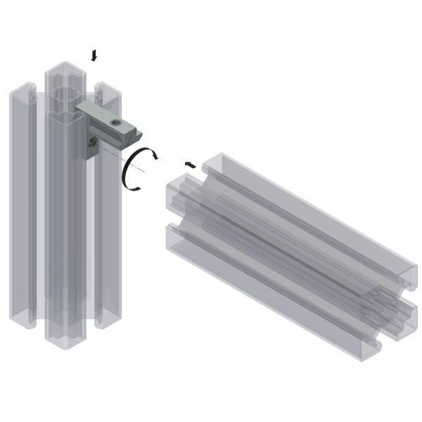 Innenwinkel Aluminiumprofile