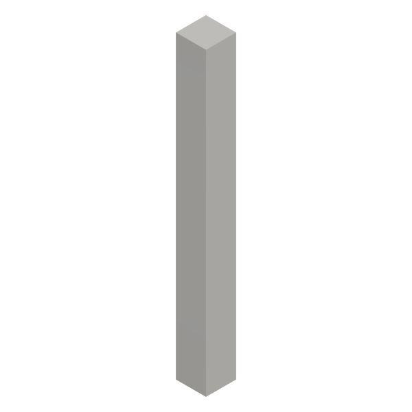Vierkantstab 6x6 mm; 1000mm