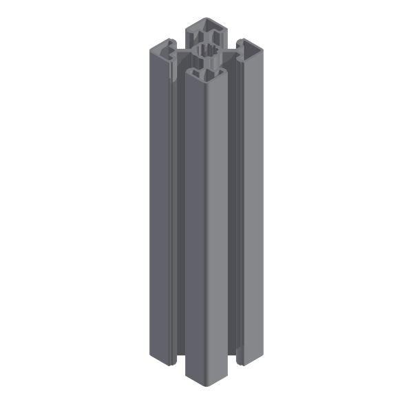 45 x 45 Montageprofil Alu mit T-Nut 10 1000 mm