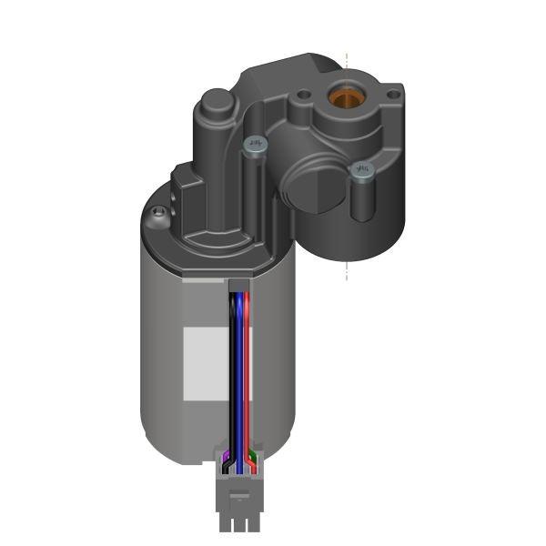 Getriebemotor innen 6kt SW6 / 4,5A / 2,5 Nm