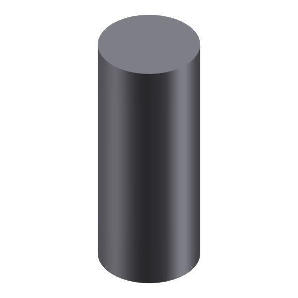 Profilstab l rund l Automatenstahl Ø 8 mm / 1000 mm