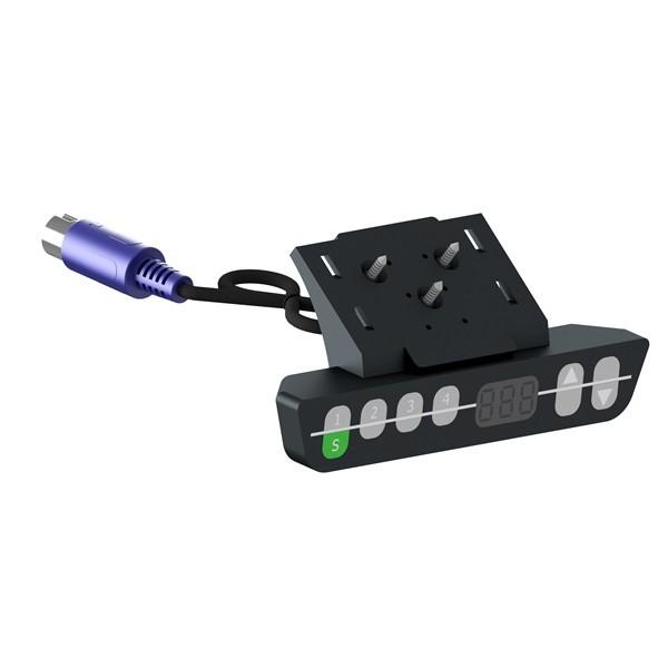 Handschalter HSU-MDF-4M2-LD mit Display